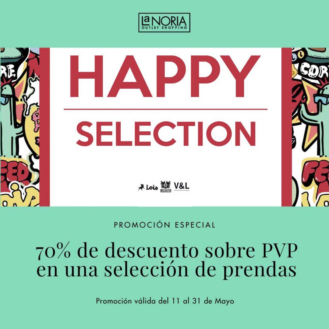 promoción especial del outlet de Lois V&L en murcia con un 70% en prendas seleccionadas