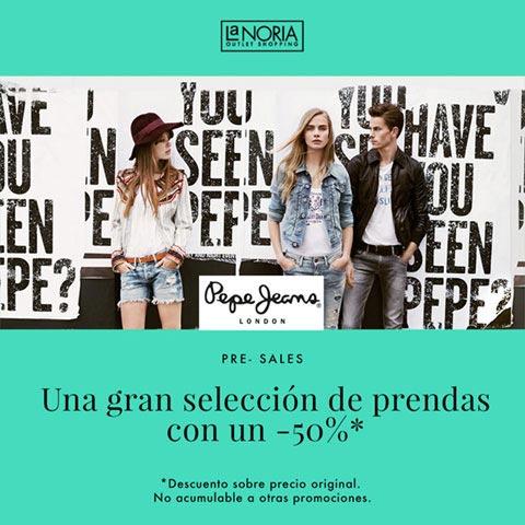 Promocion superjueves julio outlet pepe jeans con Terceras rebajas con hasta un descuento del 70%.