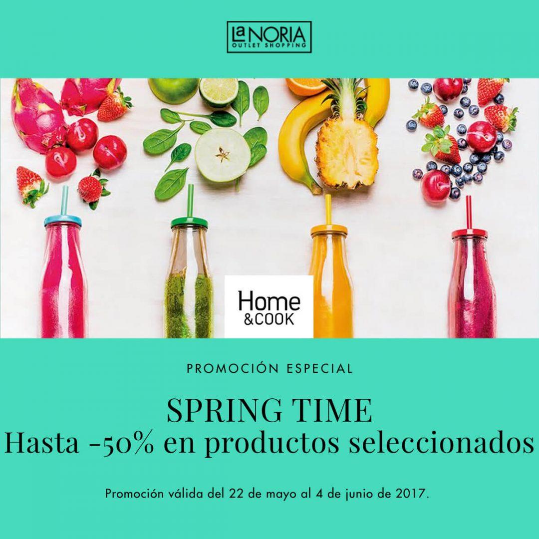 Llega el spring time al outlet de Home & Cook en murcia