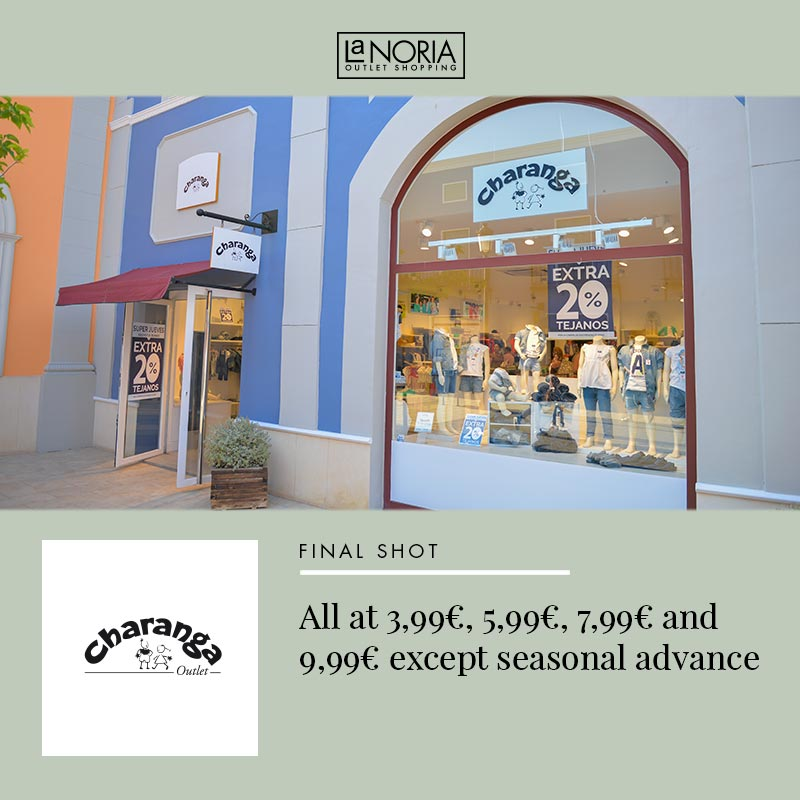 Find everything you need in the outlets of the best brands of La Noria  Outlet. The only outlet shopping centre in Murcia. Bags 5544510b0744e