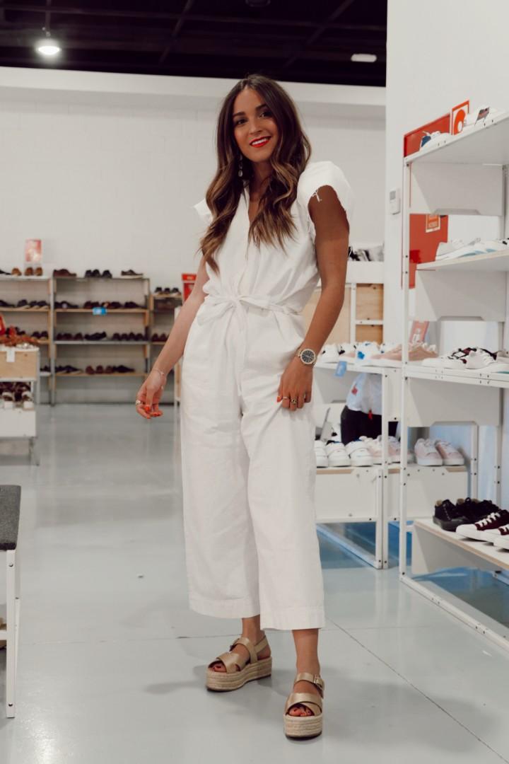 Zapatos con cuña de plataforma a la moda este verano