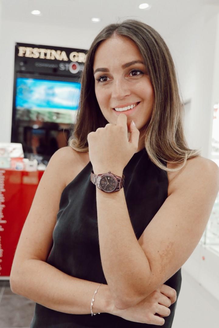 Hazte con este precioso reloj en nuestra tienda Festina de La Noria Outlet