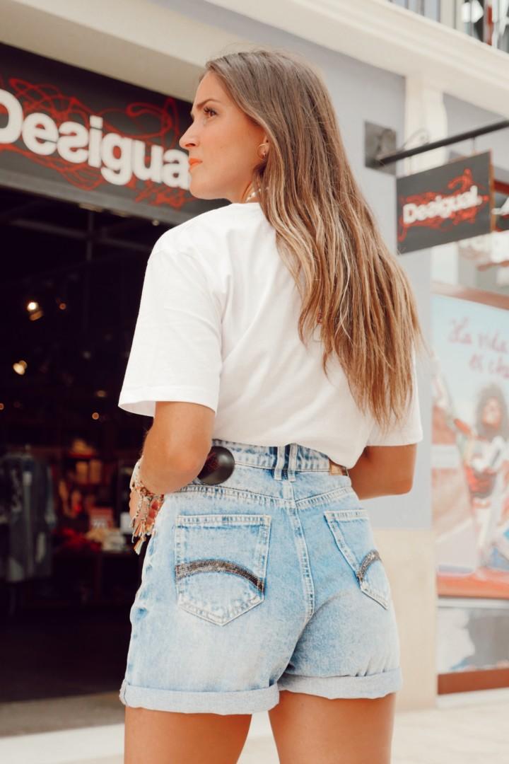 Short y camiseta corta, entre las novedades de Desigual en la Noria Outlet