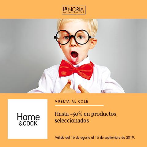 Promoción Home & Cook: Hasta -50% de descuento en productos seleccionadosla noria