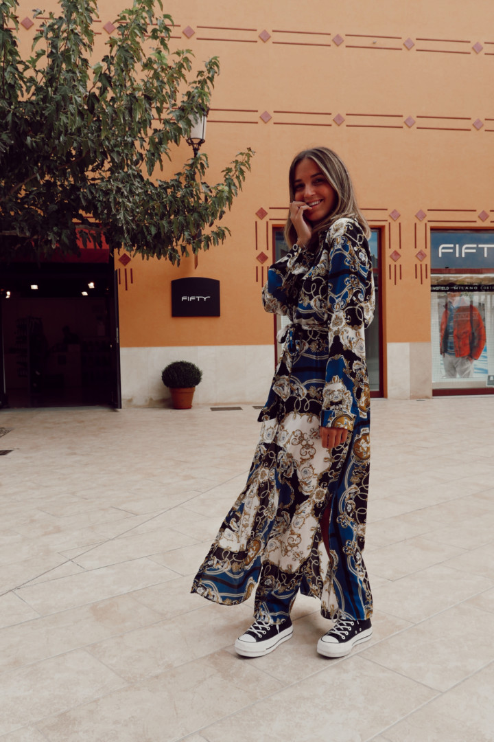 Look de vestido en Fifty Factory