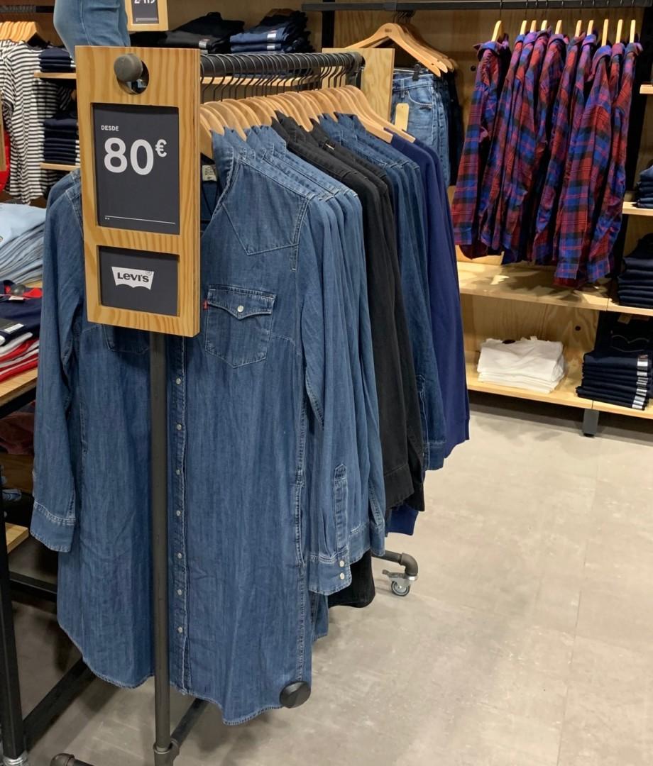 Camisas y chaquetas de estilo vaquero y denim
