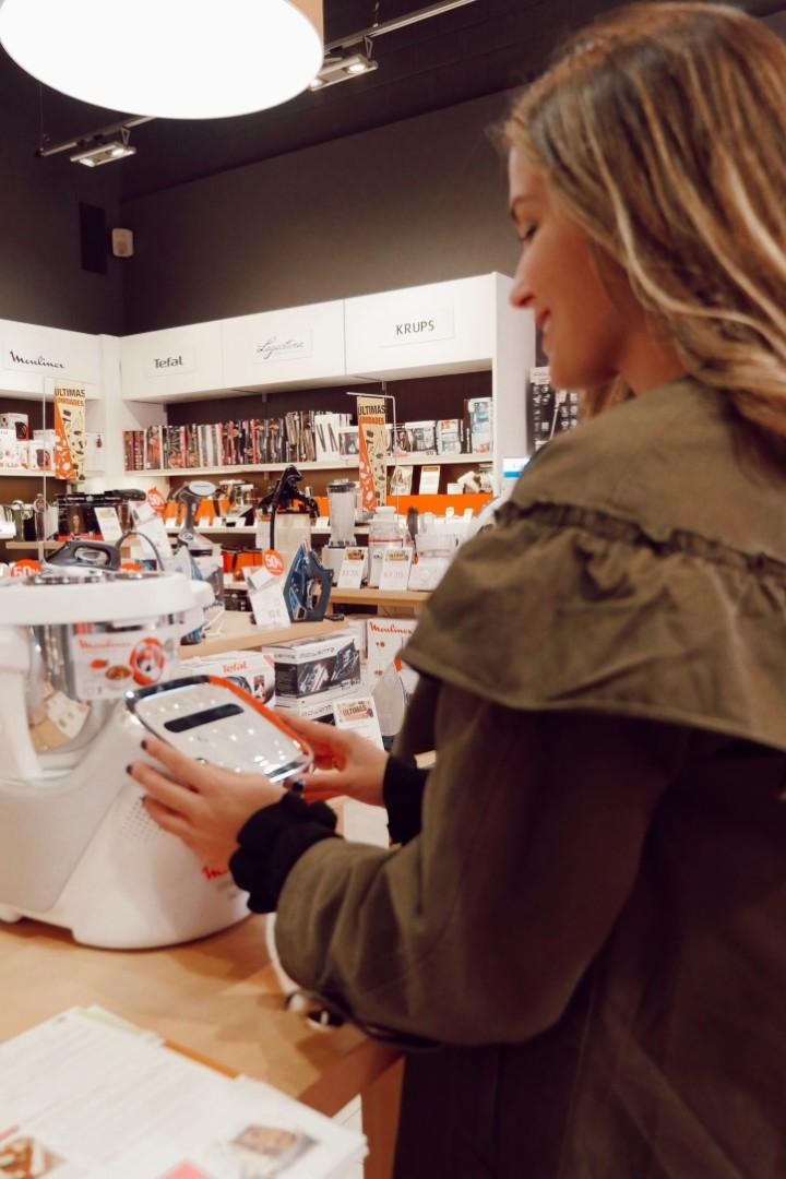 Robot de cocina Moulinex en Home & Cook de La Noria Outlet