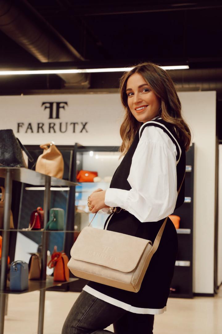 Combinaciones de zapatos y bolso en Farrutx La Noria