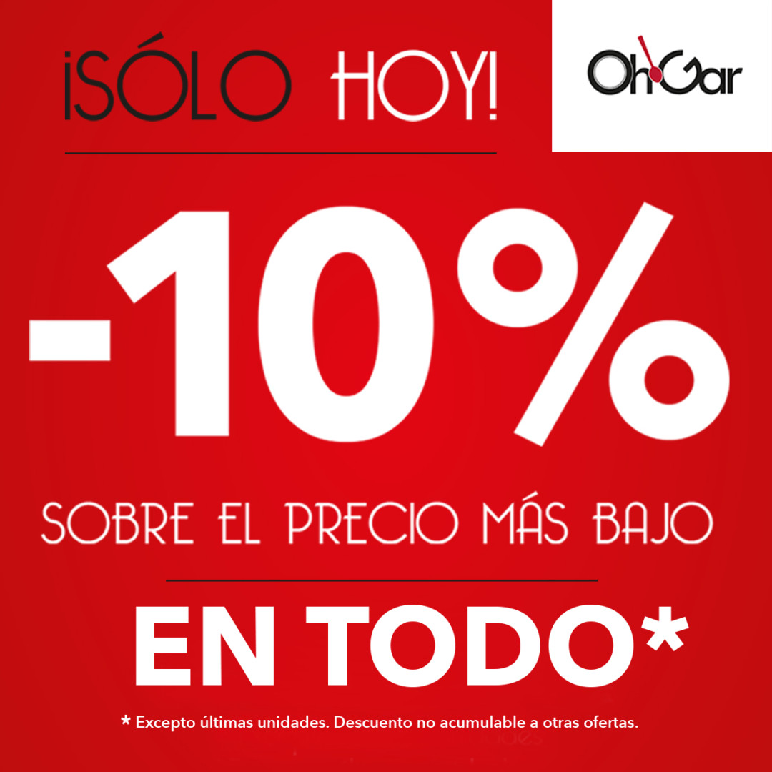 Oferta OHGar en la Noria Outlet Murcia