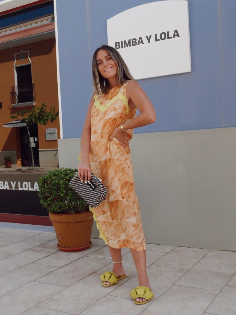 Tendencias verano y rebajas Bimba y Lola en La Noria Outlet Murcia