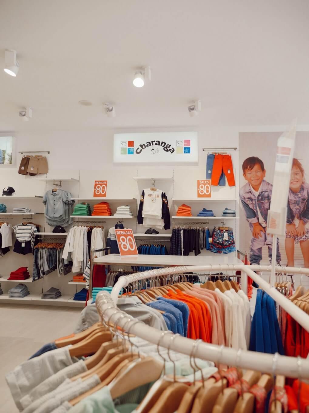 Moda para niños en Charanga La Noria Outlet